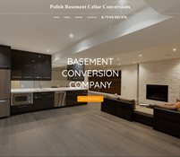Polish basement cellar conversions